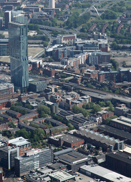 Beetham Tower & Coronation Street