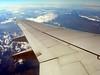 Panorama from the plane, travelling from Genoa to London<br /> <br /> Panorama dall'aereo, da Genova verso Londra
