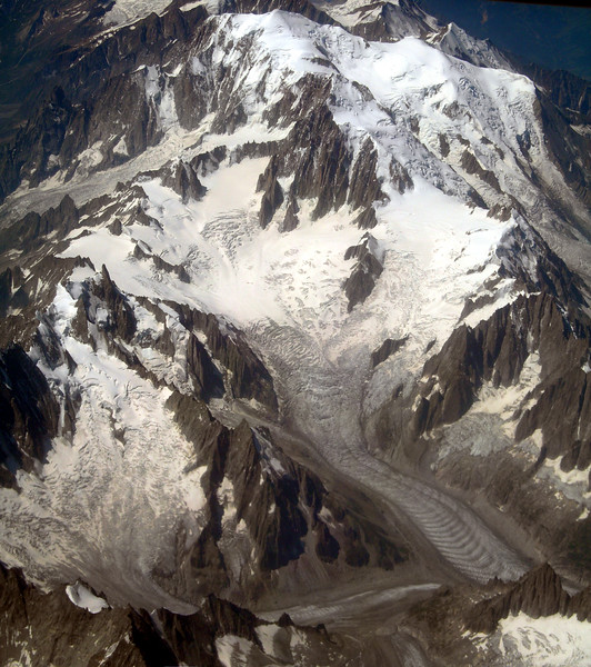 The Alps from the plane<br /> <br /> Le Alpi dall'aereo