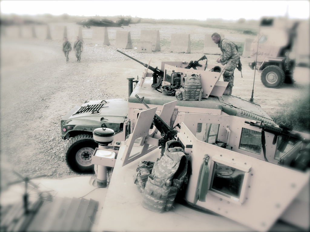 Getting ready for another convoy.