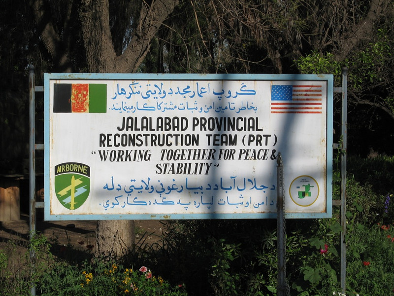 Jalalabad Provicial Reconstruction Team