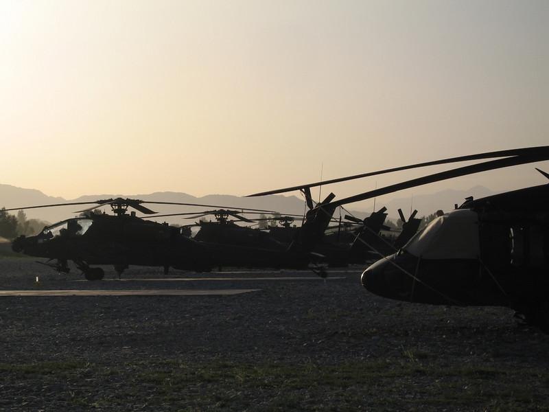 Apache at Fenty Airfield, Nangarhar, Afghanistan