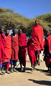 Maasai Warriors, Tanzania