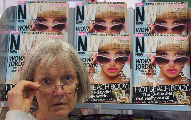 Toni the supermodel in London.