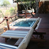 plunge pool at Simbambili #2