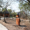 pathway to dining area at Simbambili