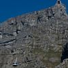 Table Mountain cable car...it was broken.  The repairmen live in Switzerland.