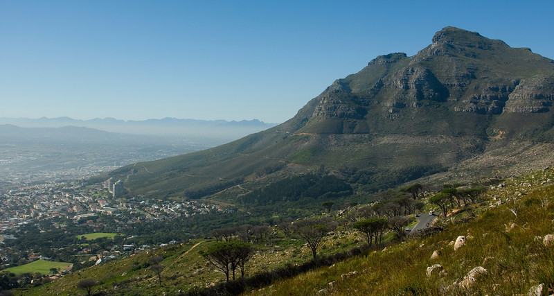 From base of Table Mountain