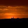Sunset over Robben Island Lighthouse
