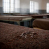 Communal cell bunks, Robben Island Prison