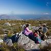 A picnic on Table Mountain