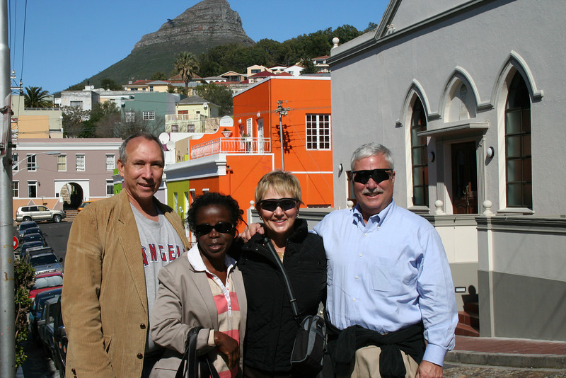 Glenn, Miyoyo, Lynne and Wayne in Capetown