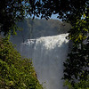 Victoria Falls.  I found this opening in the trees by sheer luck, and (when I squint) it looks just like...