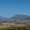 Paarl in the wine region outside Cape Town.