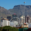 Downtown Cape Town with Table Mountain looming overhead.