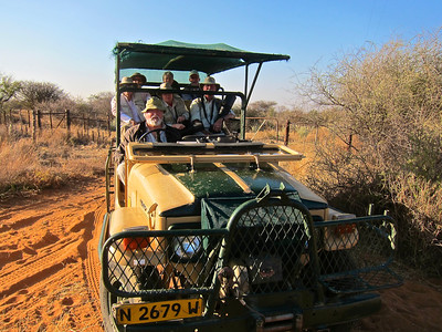 Volker's Vehicle, Etango Guest Farm, Namibia