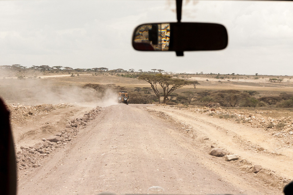 This is the main road through the Serengeti. The road is so rough that a filter on one of my camera lens filters unthreaded itself from the vibrations. This road, the main route through the Serengeti, is so poorly maintained that the guides/drivers are talking about striking to force the government to keep the road in better shape