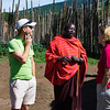 We meet a Maasai chieftan, Ole Dorup.  Both Jo and Laly have known him personally for many years.