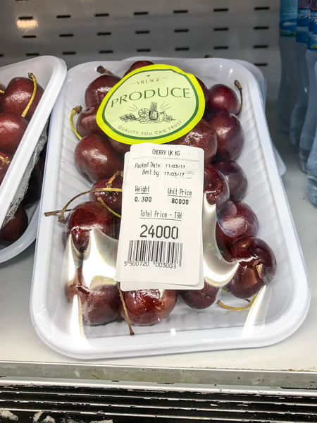 You want HOW MUCH for cherries? (that's like $10!)