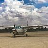 Our ride to Rwanda.  Coastal aviation Cessna 208 Grand Caravan