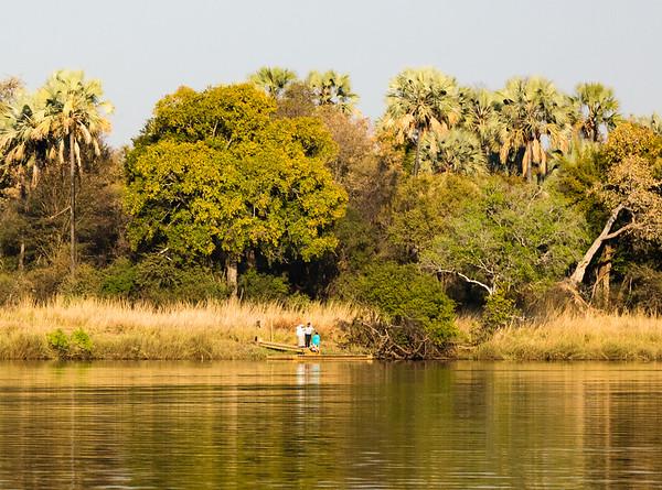 Along the Zambezi River, Zimbabwe