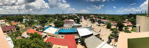 The view from Shooters Bar and Grill, Dar es Salaam