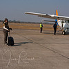 But first a short commuter flight to Royal, Zambia.