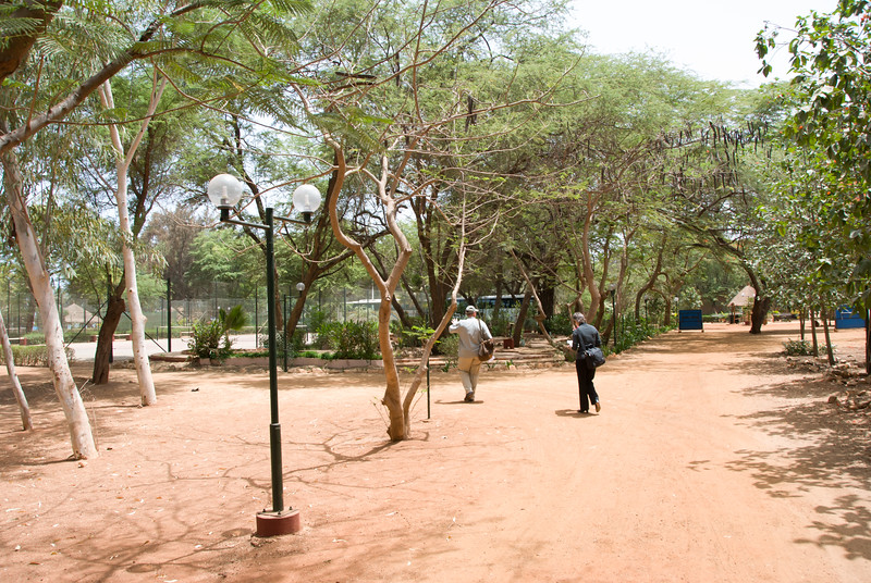 grounds at the resort in Bour, Senegal