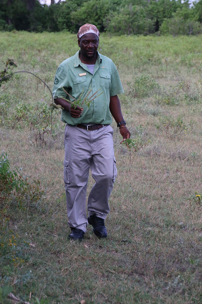 Our guide, Mocks.  He just made the Lechwe in previous picture run!!