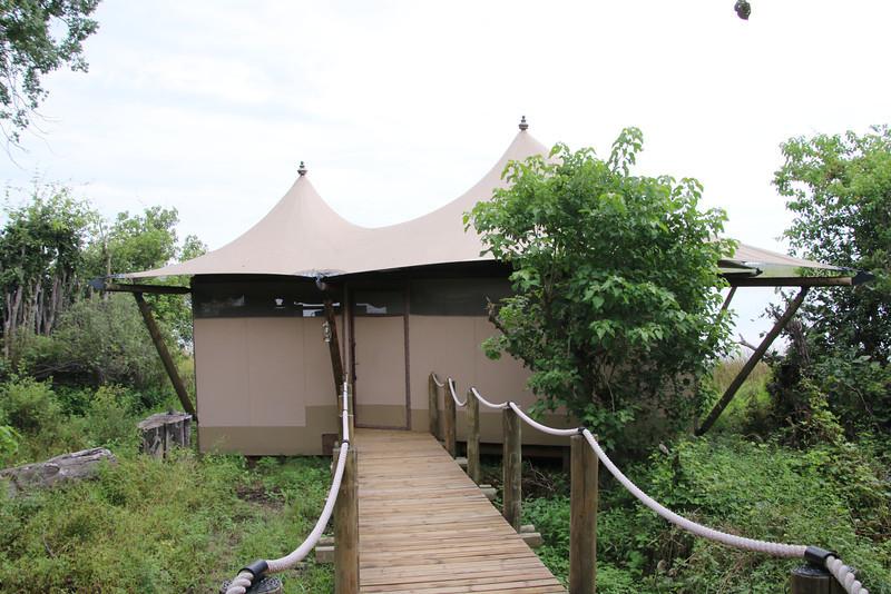 Our tent at Duma Tau.