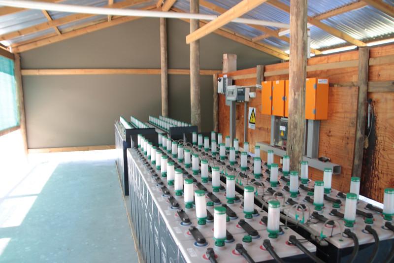 Solar Plant at Xigera
