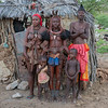 This family is part of the Himba people.