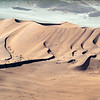 ...an aerial shot of sand dunes as they meet the South Atlantic Ocean.  We also flew over 2 ship wrecks, nearly buried in the sand.