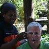 African facepainting at Moyo near Capetown