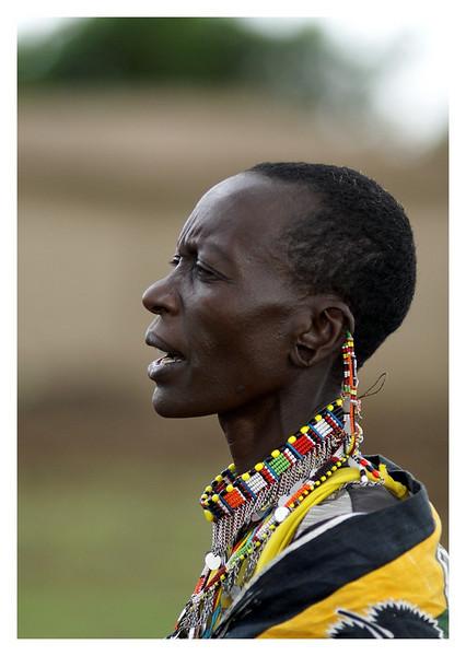 Maasia Woman, Kenya, 2009