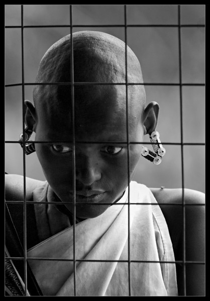 Young Maasai Woman<br /> Kenya, 2009