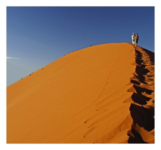 Dune Climbers, Namibia, 2007
