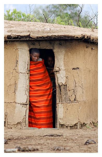 Maasai Home, Kenya, 2009