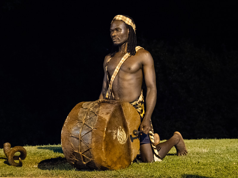 Unlike some other tribes, this one used musical instruments as part of its entertainment and communication.