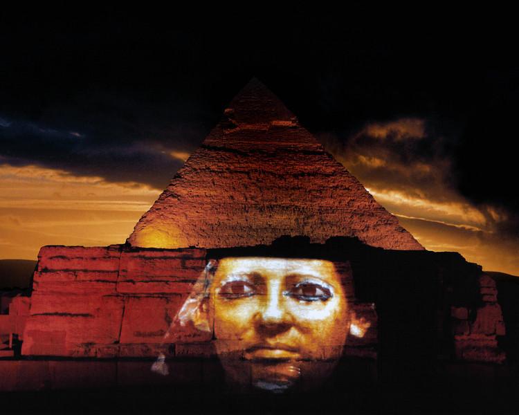 Pyramids at Giza, Cairo, Egypt
