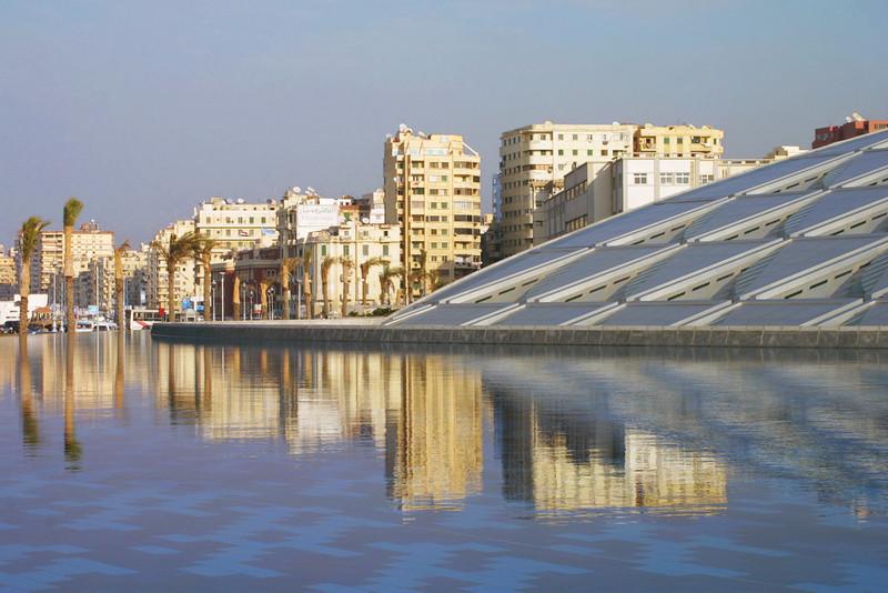 Alexandrea Library, Alexandrea, Egypt.