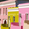 """""""Little houses made of.."""" The brightly coloured terrace residences of the Malay quarter, Bo-Kaap, Cape Town. SEE ALSO:  <a href=""""http://www.blurb.com/b/685976-africa"""">http://www.blurb.com/b/685976-africa</a>"""