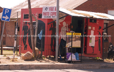 Enterprise, a coverted shed/shop on the edge of Soweto. SEE ALSO: www.blurb.com/b/685976-africa