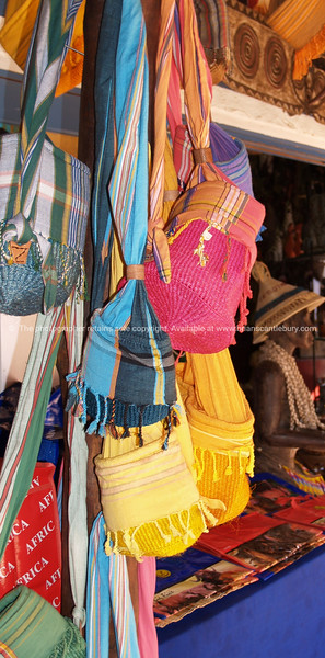 """the Colours of Africa, bags and scarves at a Johannesburg craft market. SEE ALSO:  <a href=""""http://www.blurb.com/b/685976-africa"""">http://www.blurb.com/b/685976-africa</a>"""