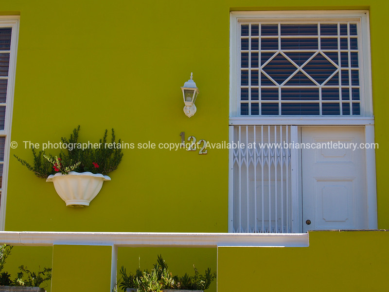 """Picturesque home entrance, Malay Quarter Cape Town. SEE ALSO:  <a href=""""http://www.blurb.com/b/685976-africa"""">http://www.blurb.com/b/685976-africa</a>"""