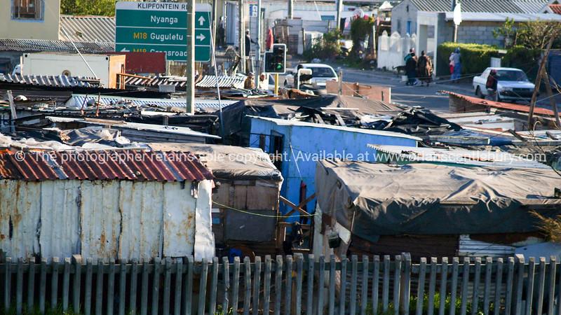 "Cape Town Shanty town - slum. SEE ALSO:  <a href=""http://www.blurb.com/b/685976-africa"">http://www.blurb.com/b/685976-africa</a>"
