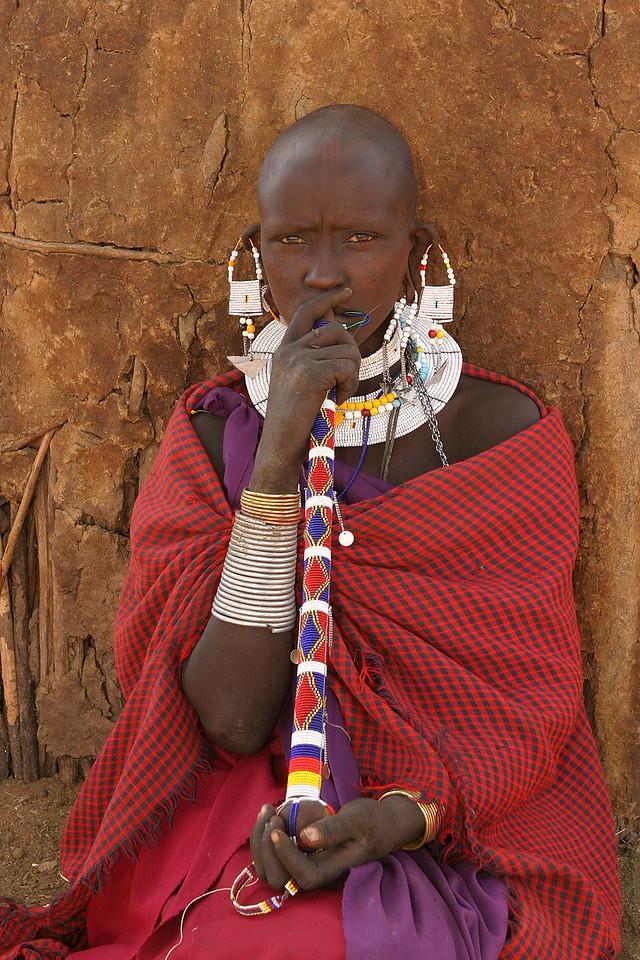 Maasai woman, Tanzania