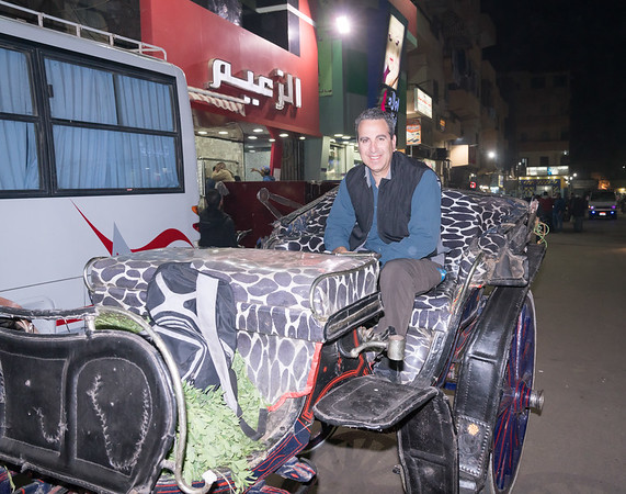 Night Bazaar, Luxor, Eqypt
