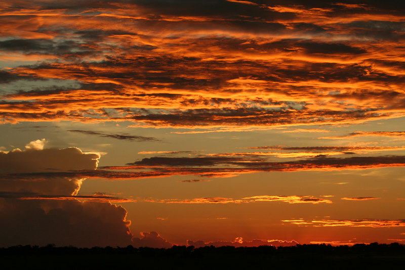 Kings Pool Sunset