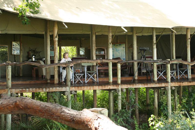 Main Tent at Tubu Tree